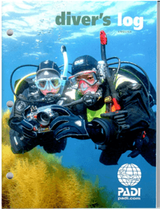 PADI Refill Log Book